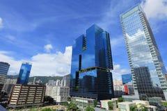 Modern business buildingin Hong Kong Royalty Free Stock Images