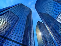 Modern business buildings Royalty Free Stock Image