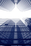 Modern business buildings Royalty Free Stock Images
