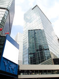 Modern Business Buildings. Tall business buildings in modern city Stock Image