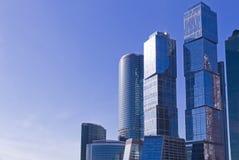 Modern business buildings Stock Photos