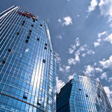 Modern Business Buildings Stock Photography