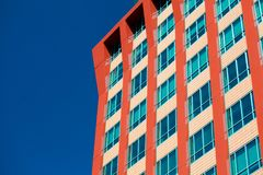 Modern Business buildings with sky background Royalty Free Stock Photo
