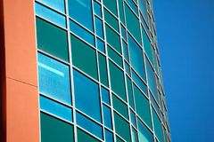 Modern Business buildings with sky background Royalty Free Stock Images
