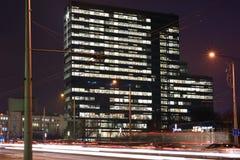 Modern Business Buildings, Vilnius Stock Photos