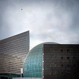 Modern business builds of La Defence Royalty Free Stock Image