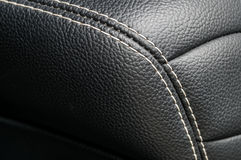 Modern business car interior detail. Stock Photography