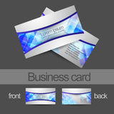 Modern Business card Royalty Free Stock Photography