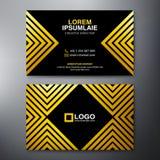 Modern Business card Design Template Stock Photos