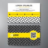 Modern Business card Design Template. Stock Photo