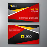 Modern Business card Design Template. Royalty Free Stock Images