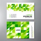 Modern Business card Design Template. Royalty Free Stock Photos