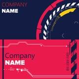 Modern Business Card Set Stock Photo