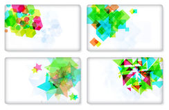 Modern Business-Card Set, elements for design. Stock Photo