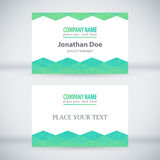 Modern Business-Card Set 02 Royalty Free Stock Photos