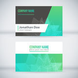 Modern Business-Card Set 03 Royalty Free Stock Photography