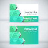 Modern Business-Card Set 04 Royalty Free Stock Photography