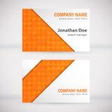 Modern Business-Card Set 06 Stock Photo