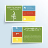 Modern business card Royalty Free Stock Photo