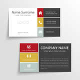 Modern business card Stock Photo