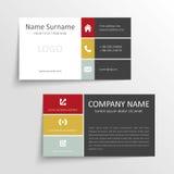 Modern business card Stock Photo