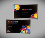 Modern business card templates Stock Photo