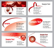 Modern Business Cards Stock Images