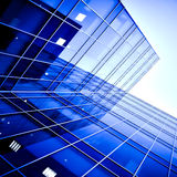 Modern business center Royalty Free Stock Photo