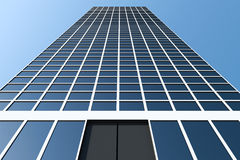 Modern Business Center. 3d Image Stock Image