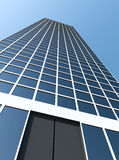 Modern Business Center. 3d Image Royalty Free Stock Image