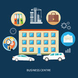 Modern business center Royalty Free Stock Photos
