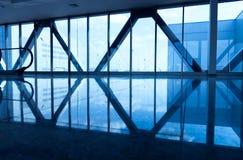 Modern business center interior Stock Photo
