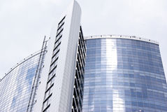 Modern business center in Kiev Stock Photography