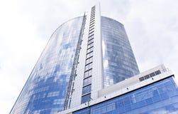 Modern business center in Kiev Royalty Free Stock Image