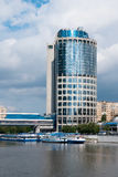 Modern business center. Moscow. Royalty Free Stock Photo