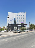 Modern business center in Paphos, Cyprus Royalty Free Stock Photos
