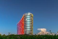 Modern business center Stock Image