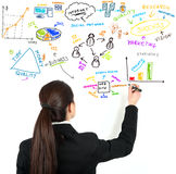 Modern business concept Royalty Free Stock Photography