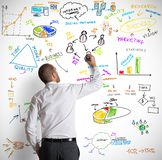 Modern business concept Stock Image