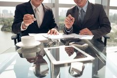 Modern business concept Stock Photography