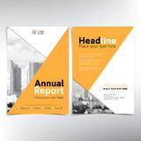 Modern business cover page, vector template, condominium and real estate concept Royalty Free Stock Image
