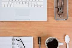 Modern Business Desk Royalty Free Stock Photos