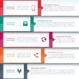 Modern Business  Infographics Template Royalty Free Stock Image