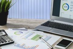 Modern business intelligence Stock Images