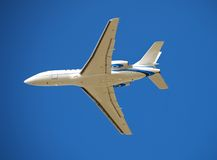 Modern business jet Royalty Free Stock Images
