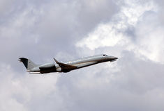 Modern business jet Stock Photo