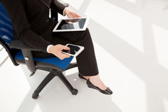 Modern business lady Royalty Free Stock Image