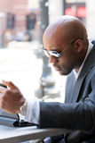 Modern Business Man Stock Photo