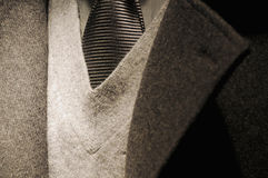 Modern business man suit with tie Stock Photo