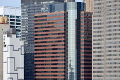 Modern Business Office Buildings. In Manhattan, New York City Royalty Free Stock Photo